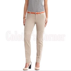 💼 Banana Republic Sloan Skinny Fit Khaki Pants